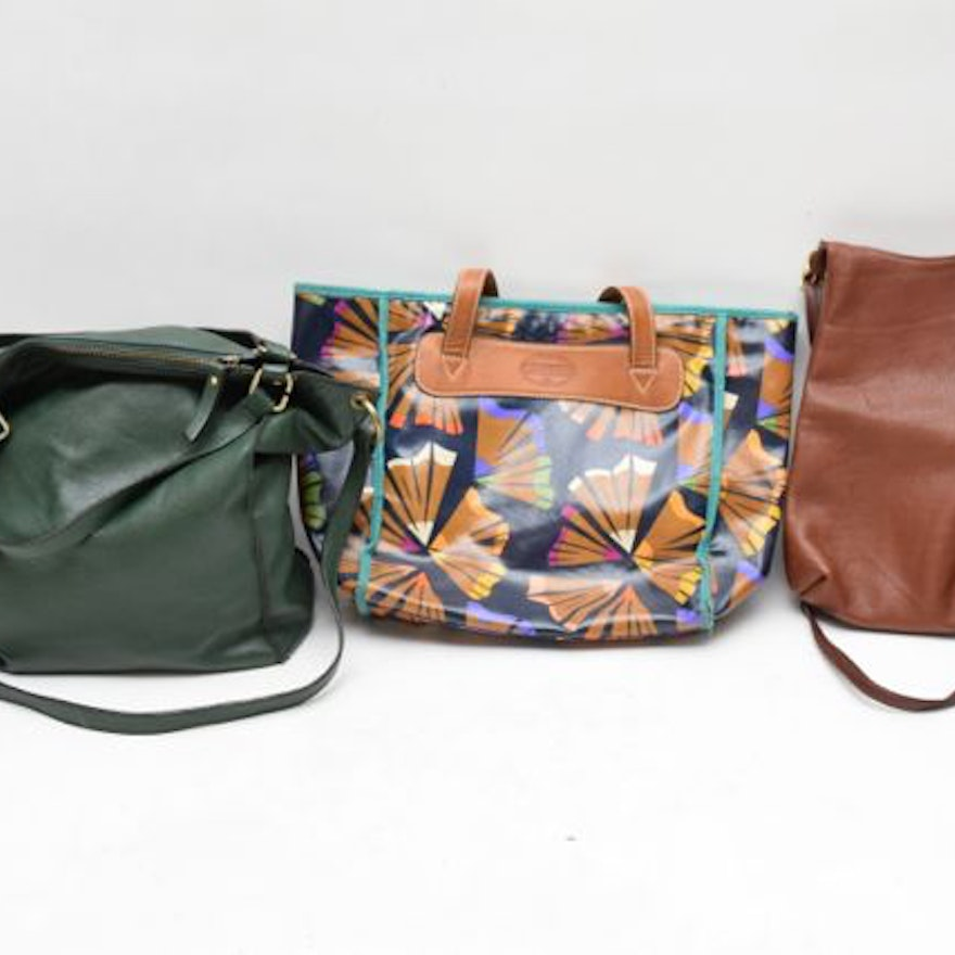 Fossil Libaire Usa And Innue Leather Handbags