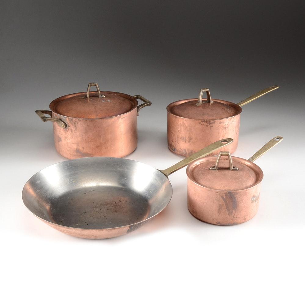 Vintage Paul Revere Copper Cookware Ebth