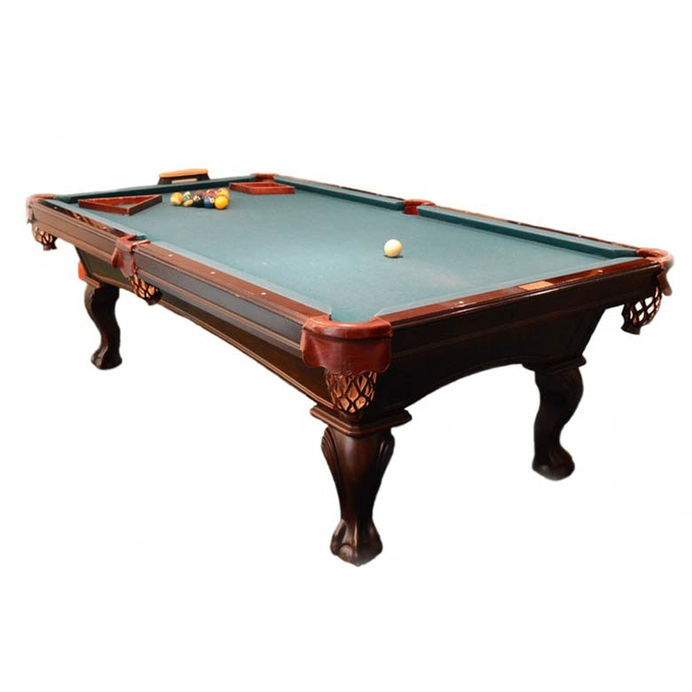 Olhausen cherry wood eight foot pool table ebth for 10 foot billiard table