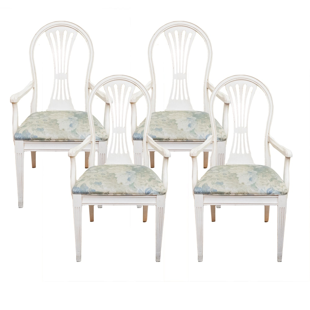 Ethan Allen Swedish Home Arm Chairs. Ethan Allen Swedish Home Arm Chairs  EBTH
