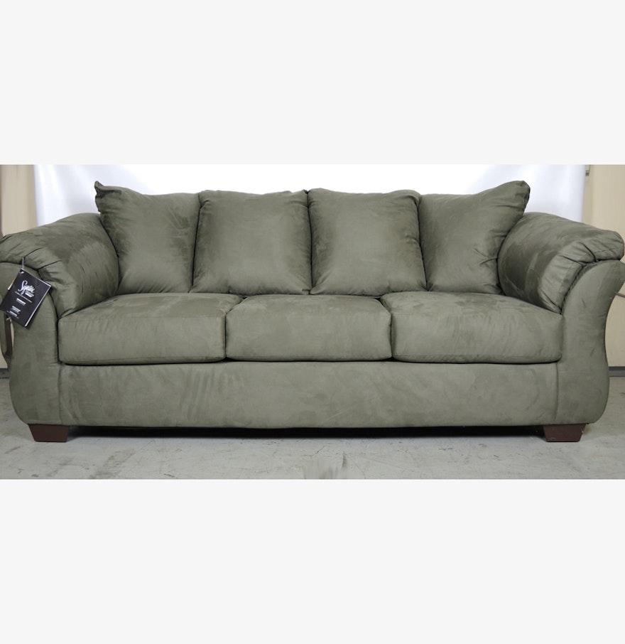 Ashley Furniture Darcy Sage Chair: New Ashley Signature Design Darcy Sofa In Sage Green : EBTH