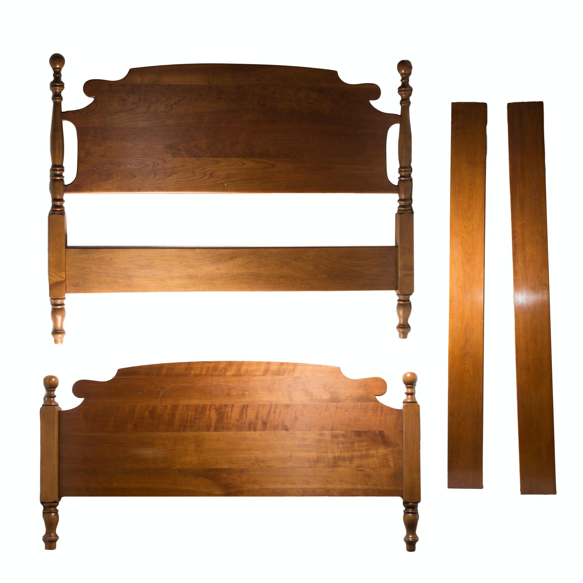 vintage stickley furniture full bed frame
