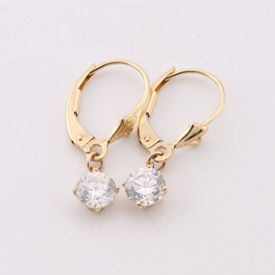 lever rose diamonds with gold pin earrings hinged diamond hoop post huggies back