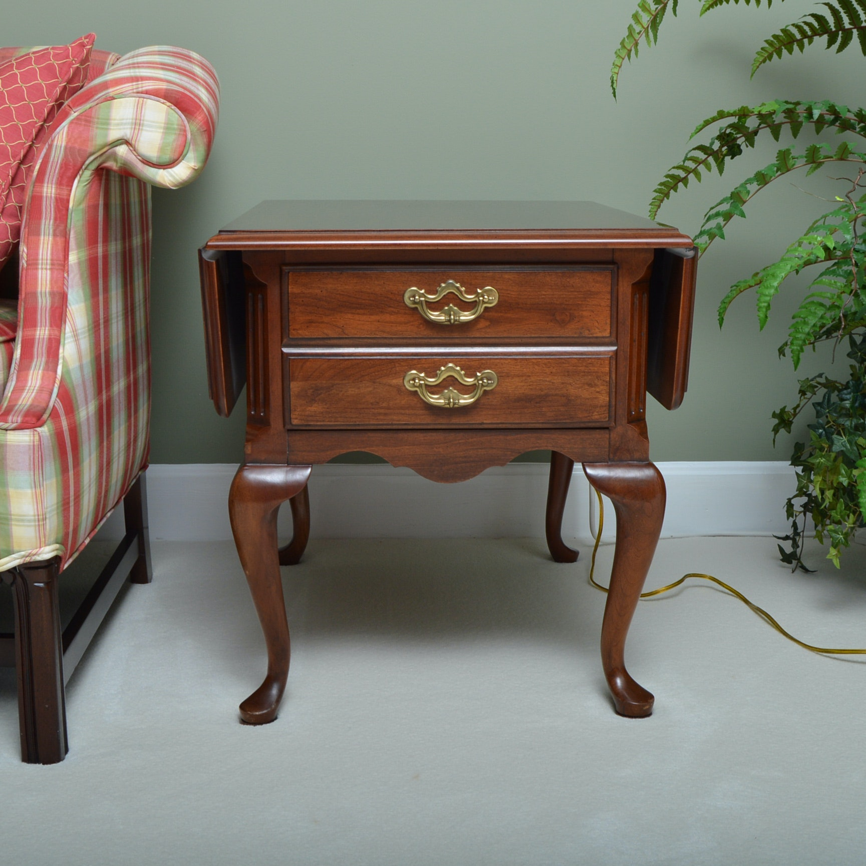 Queen Anne Style Sofa Table EBTH