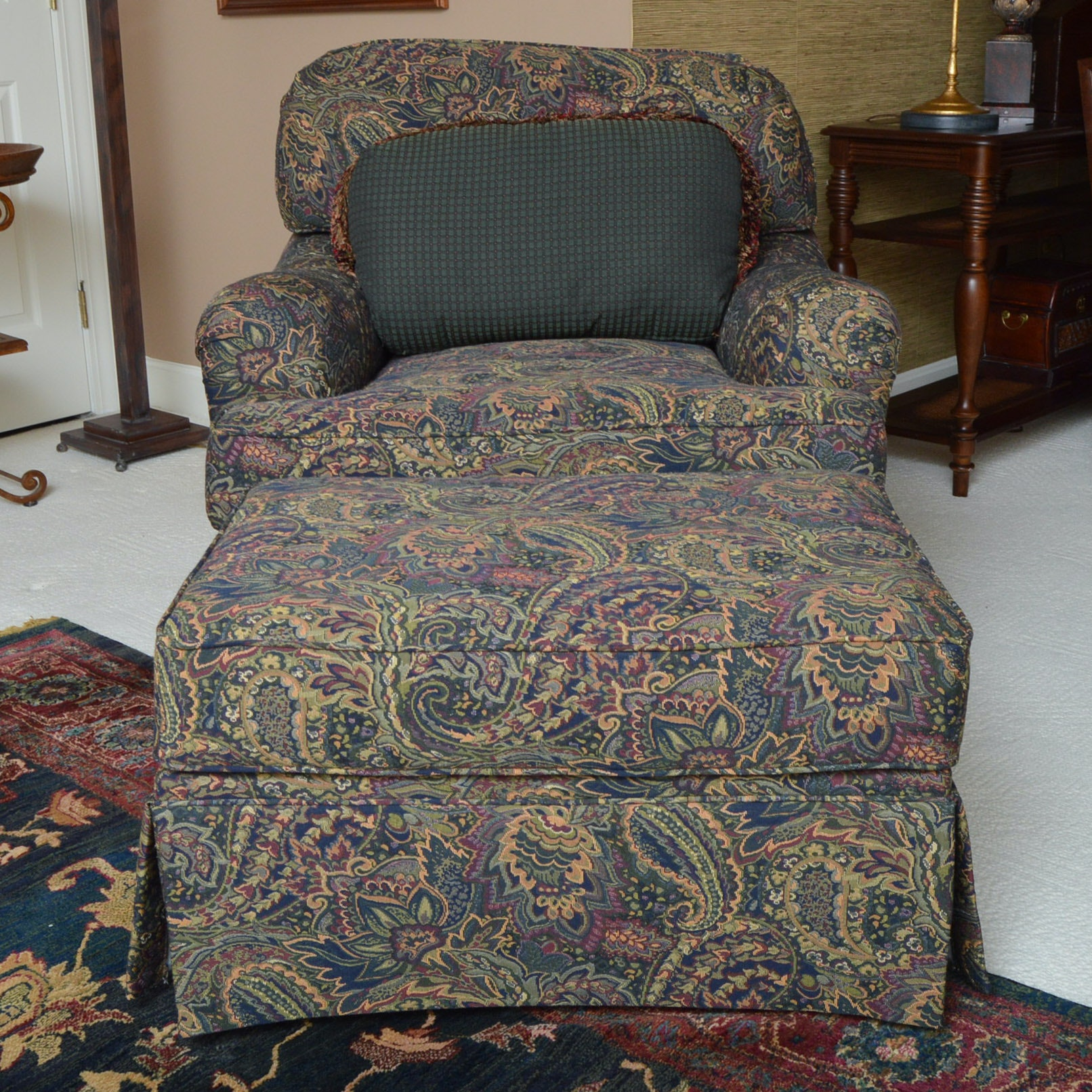 Norwalk Furniture Chair And Ottoman ...