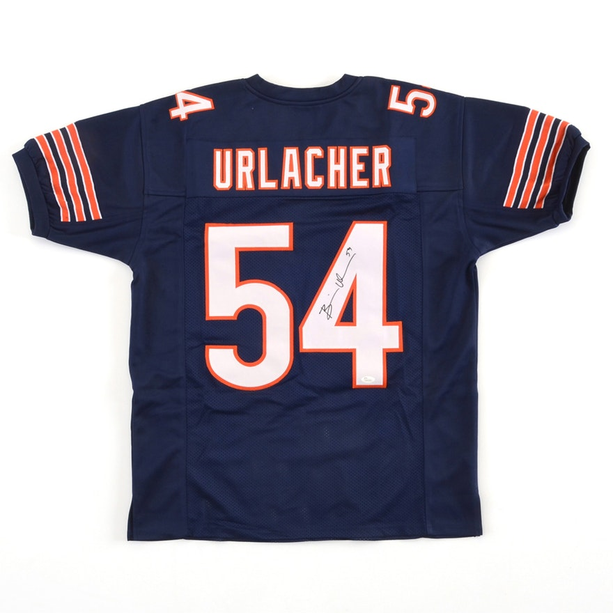 online retailer a0770 88e72 (HOF) Brian Urlacher Signed Chicago Bears Signed NFL Jersey JSA COA