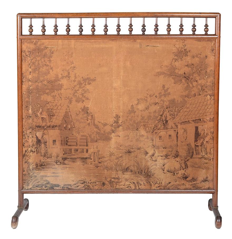 Victorian Style Fireplace Screen Ebth
