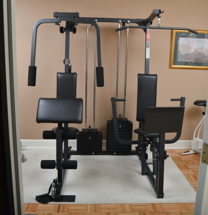Weider pro dual station workout system ebth