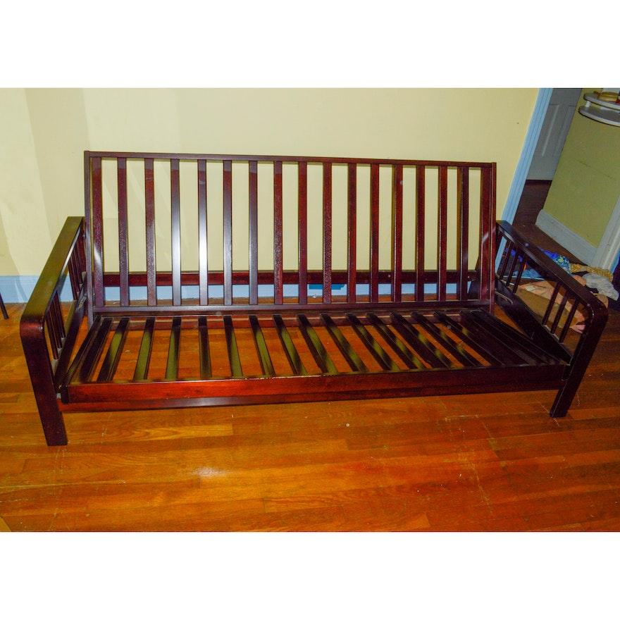 Pleasing Wood Craftsman Style Futon Sofa Frame Ibusinesslaw Wood Chair Design Ideas Ibusinesslaworg