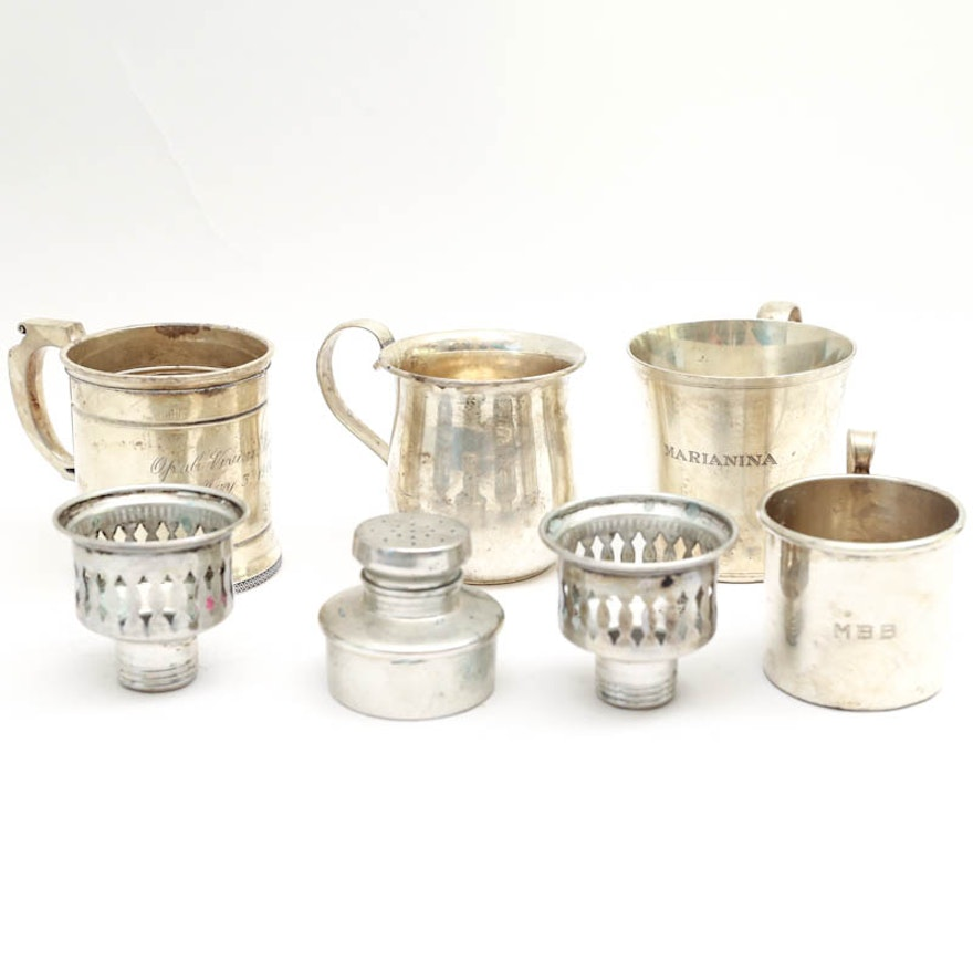 Collection of Sterling Silver Items