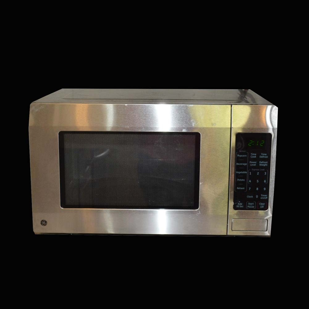 stainless steel general electric microwave - General Electric Microwave