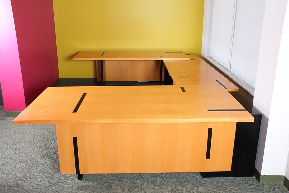 Stow Davis For Richard Meier Executive Desk Ebth