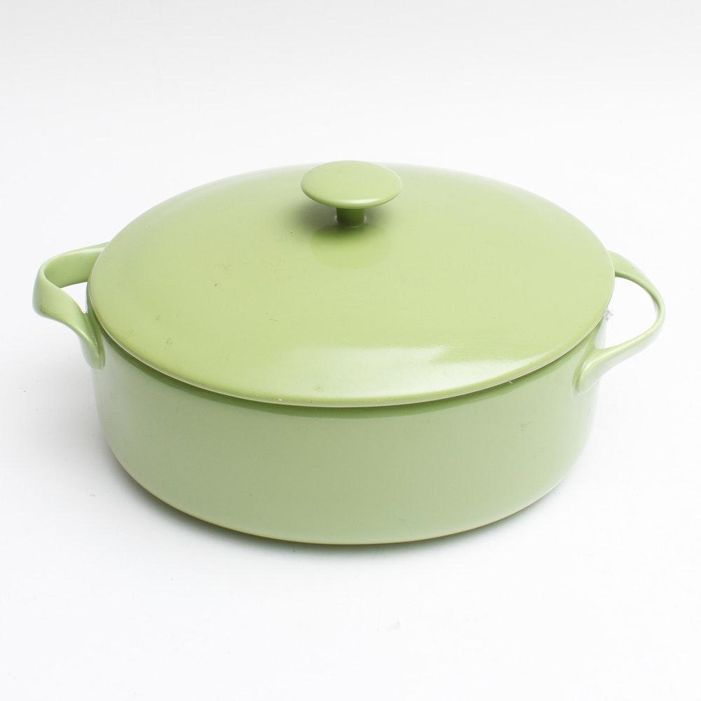 Lindt Stymeist Designs Green Oval 3 5 Quart Baker Ebth