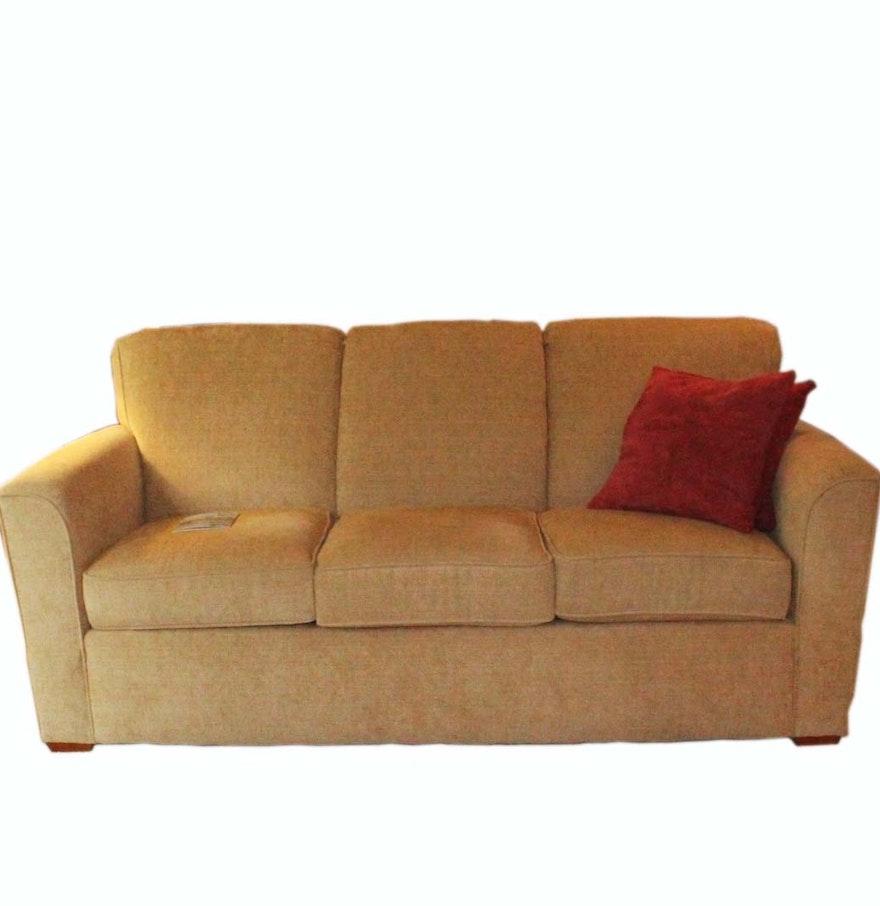 Flexsteel Curved Sofa Latitudes South