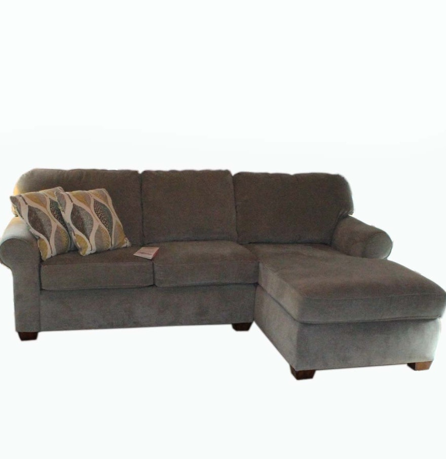 Flexsteel sofa with chaise ebth for Flexsteel sectional sofa with chaise