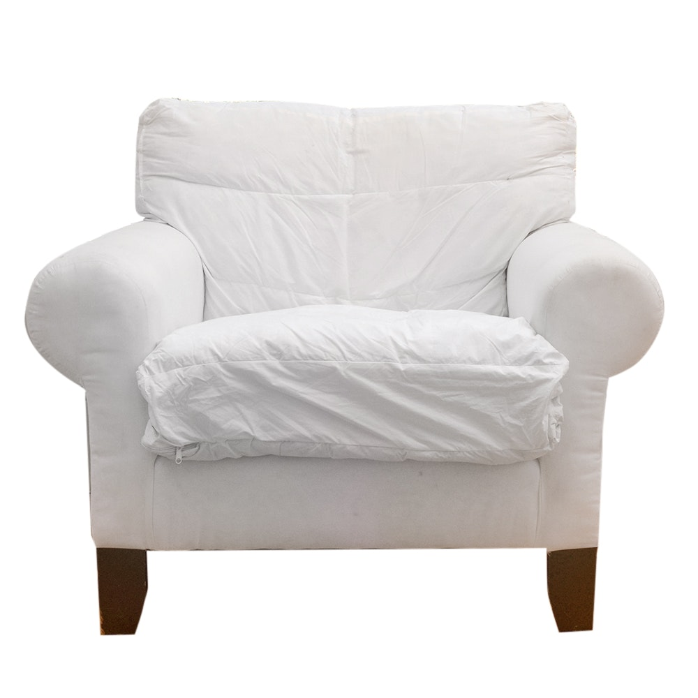 Pottery Barn Armchair By Mitchell Gold And Bob Williams ...