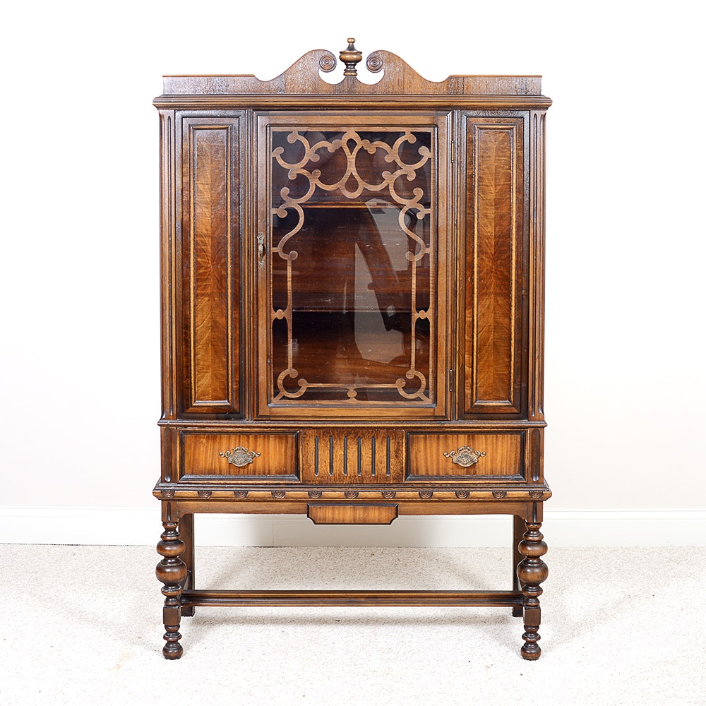 Early 20th Century Rome Furniture Company China Cabinet