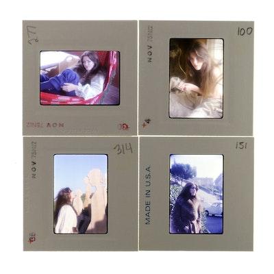 Original 35mm Slides of Martine Le Mauviel by Bob Guccione