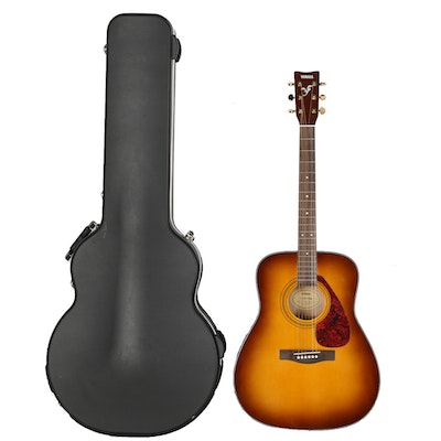 eterna yamaha ec 15 classic acoustic guitar and extras ebth. Black Bedroom Furniture Sets. Home Design Ideas