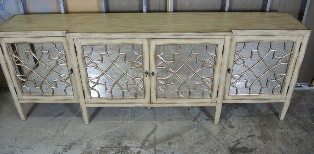Hooker Furniture Mirrored Sanctuary Four Door Console