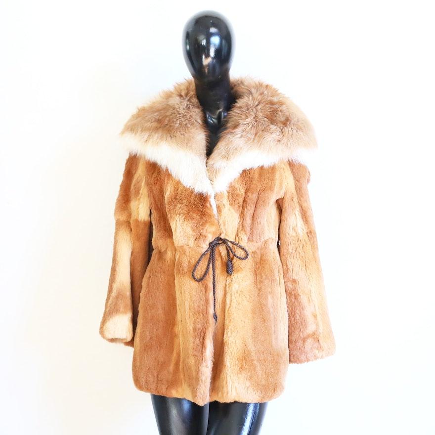 0e0edb0b732 Vintage 1970s Rare Guanaco Fur Coat by Jacques Saint Laurent | EBTH