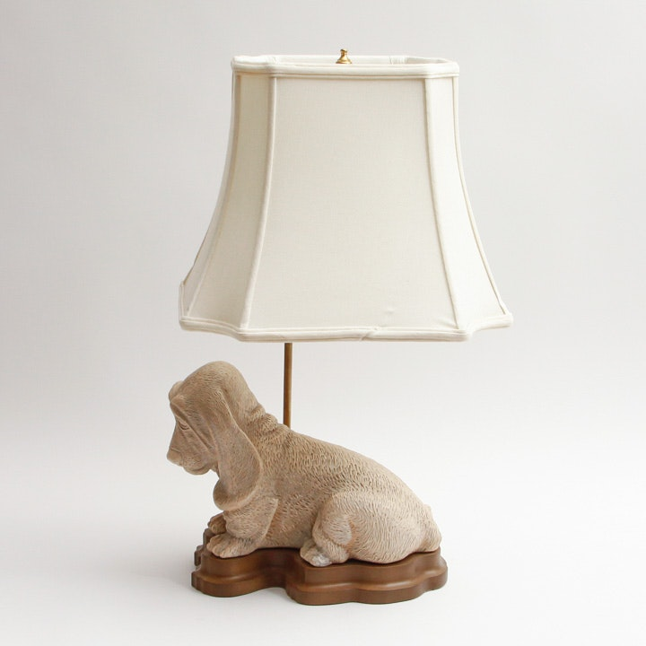 Basset Hound Table Lamp ...