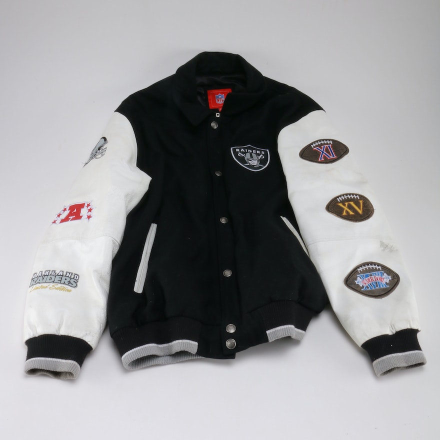 d4daaa95f Raiders Super Bowl Jacket   EBTH