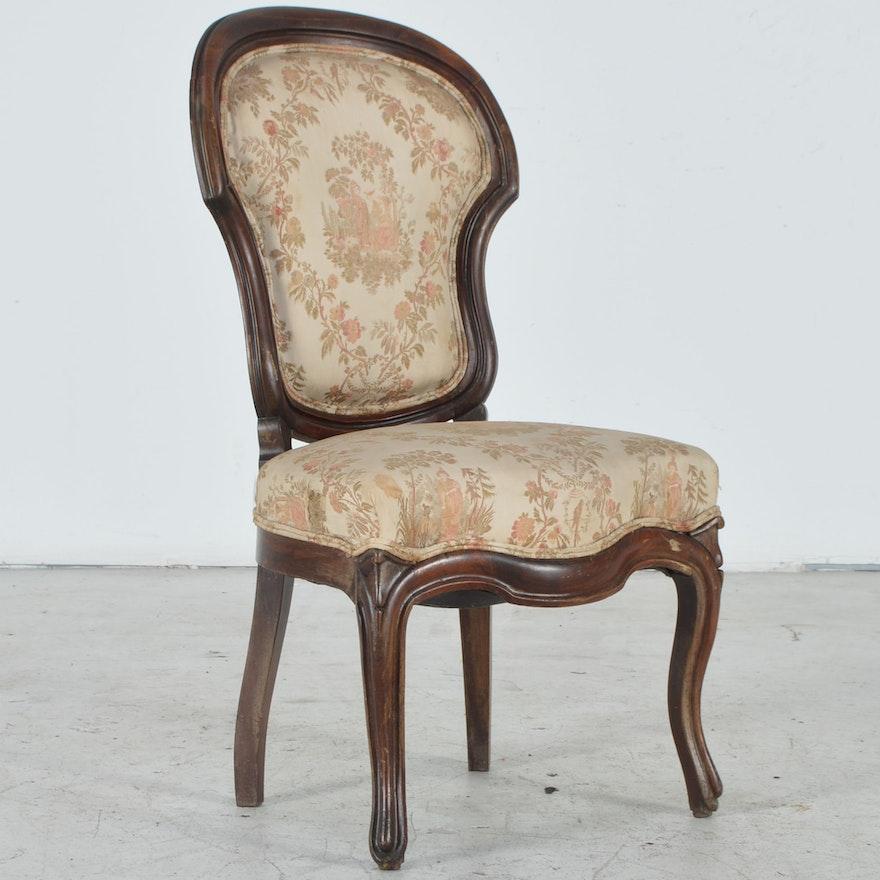 Antique Slipper Chair ... - Antique Slipper Chair : EBTH