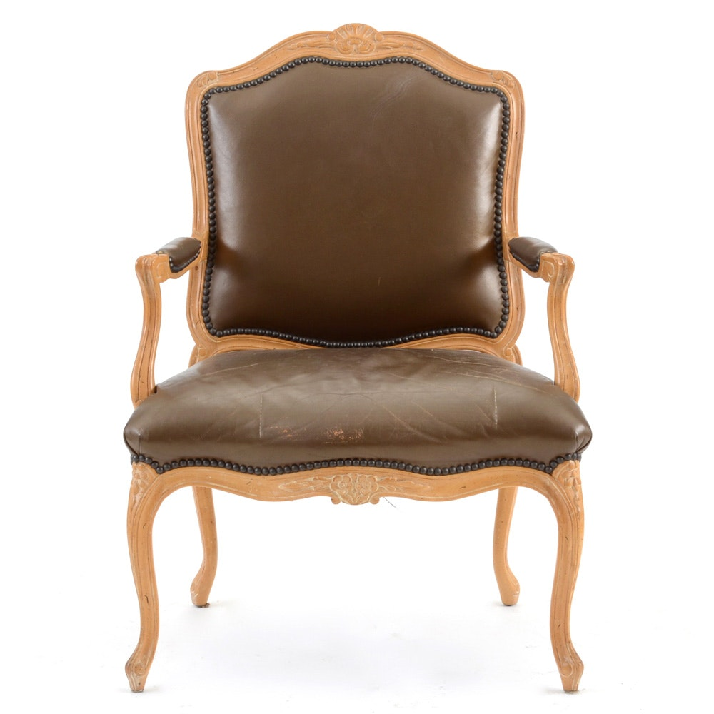 Louis Xv Style Fauteil Arm Chair Ebth