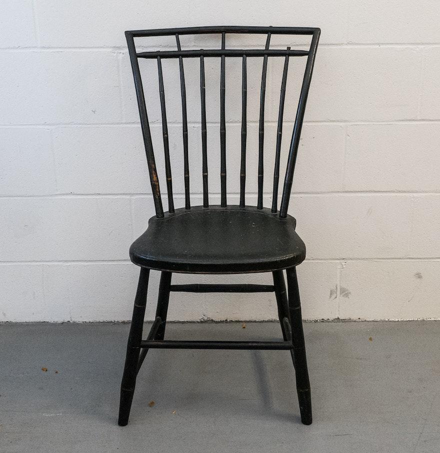 American windsor chair - Early American Windsor Chair