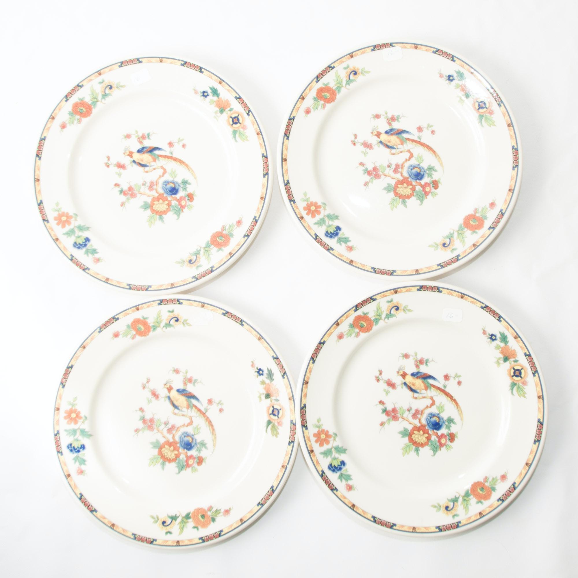 Syracuse China \ Bird of Paradise\  Dinner Plates ...  sc 1 st  EBTH.com & Syracuse China \