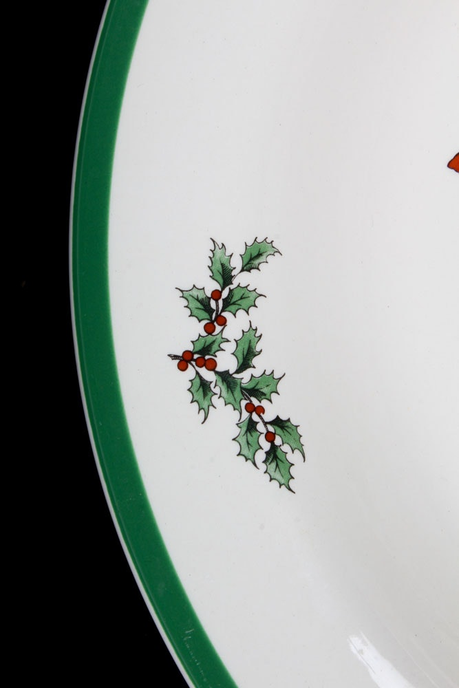 Spode Christmas Tree Made In England