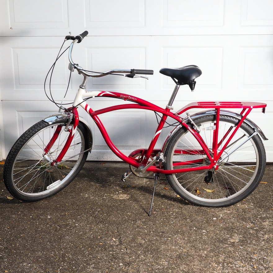 Schwinn Point Beach Men S Cruiser Bicycle