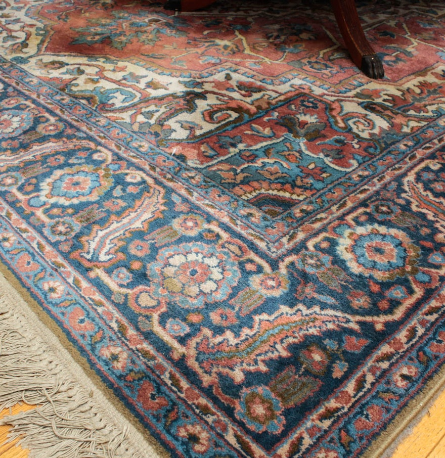 "Karastan ""Antique Serapi"" Wool Rug : EBTH"