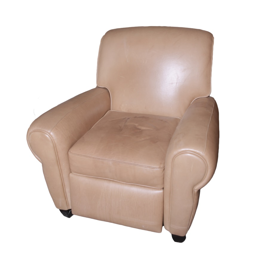 Fine Ballard Designs Leather Recliner Short Links Chair Design For Home Short Linksinfo