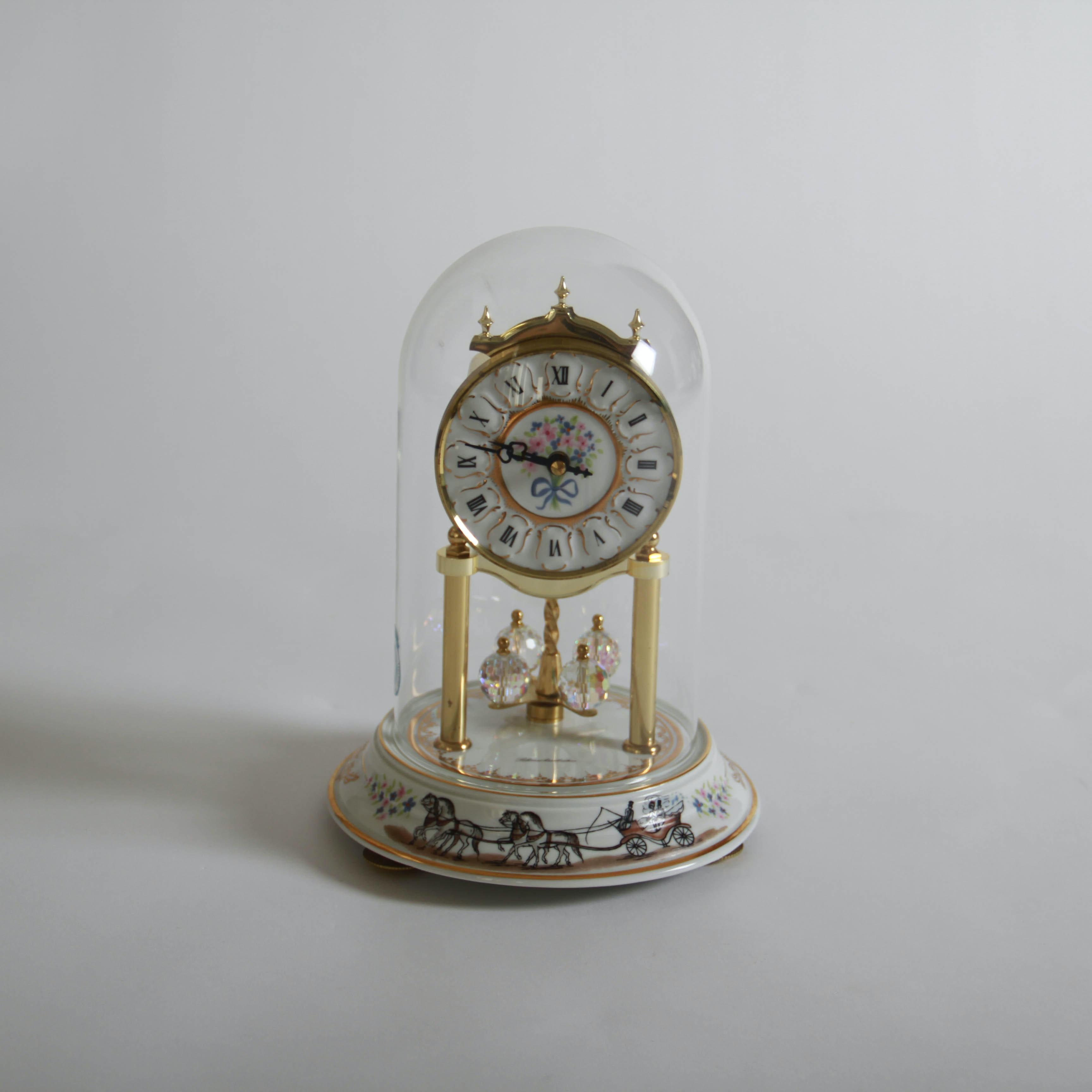 Vintage Anniversary Clock By Schmeckenbecher Ebth