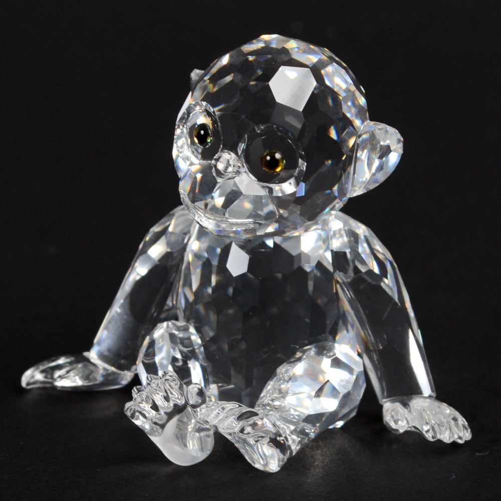 Swarovski Crystal Chimpanzee