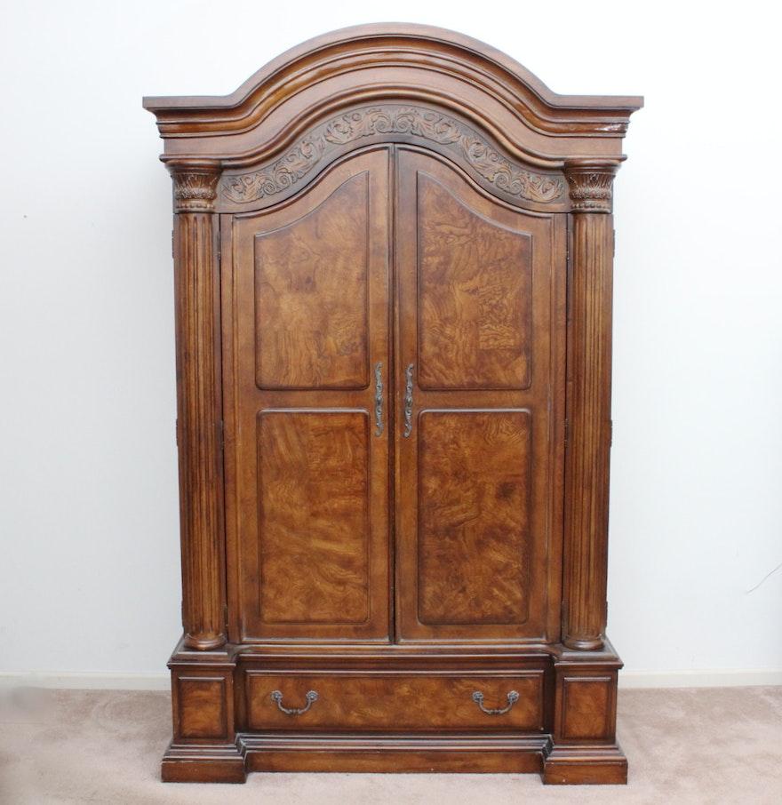 Collezione Europa Walnut Veneer Armoire EBTH - Collezione europa furniture designs