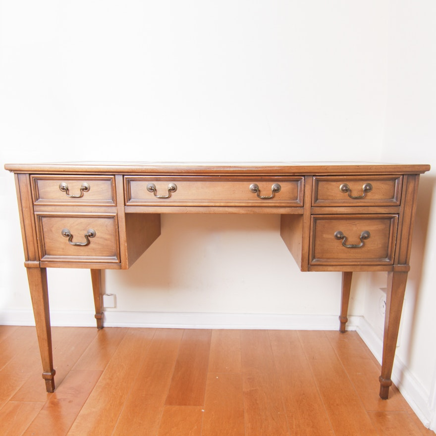 Sligh Lowry Leather Top Desk