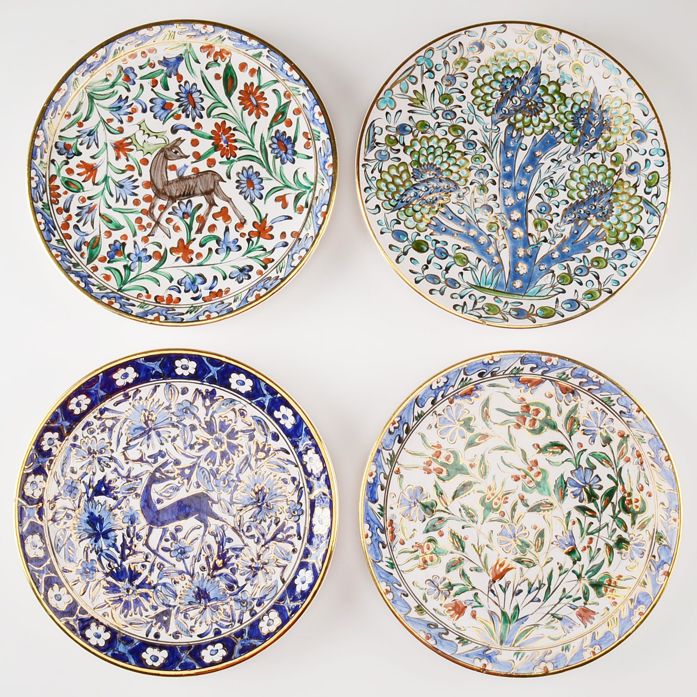 Four Greek Decorative Plates ...  sc 1 st  EBTH.com & Four Greek Decorative Plates : EBTH