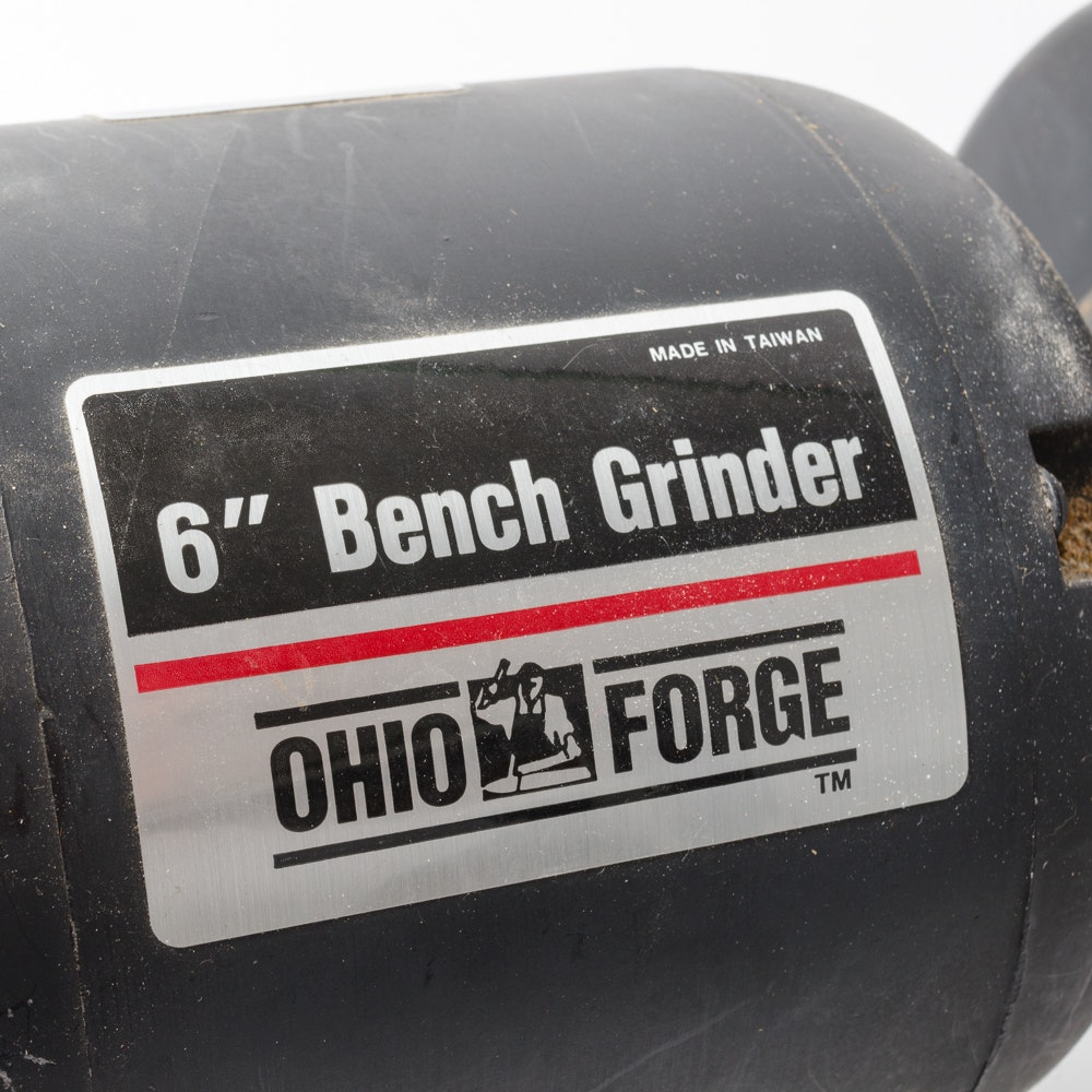 Ohio Forge 6 Quot Bench Grinder Ebth
