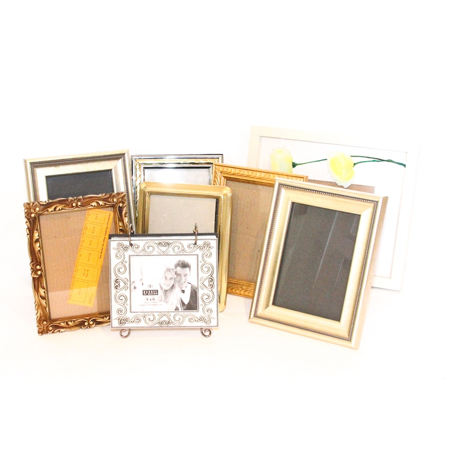5974979bf73f Assortment of Standing Picture Frames   EBTH