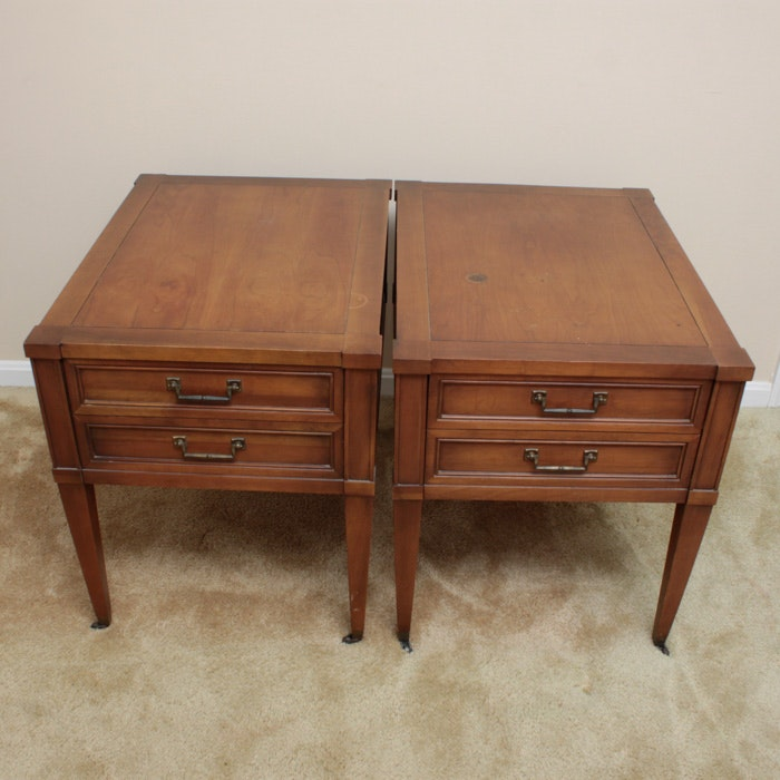 Pair Of Vintage Brandt Furniture End Tables ...