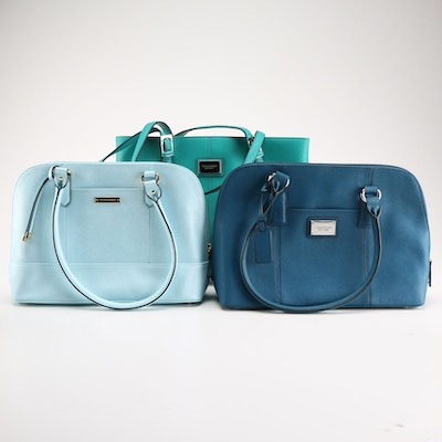 Tignanello Blue Handbag Collection de72cf0204542