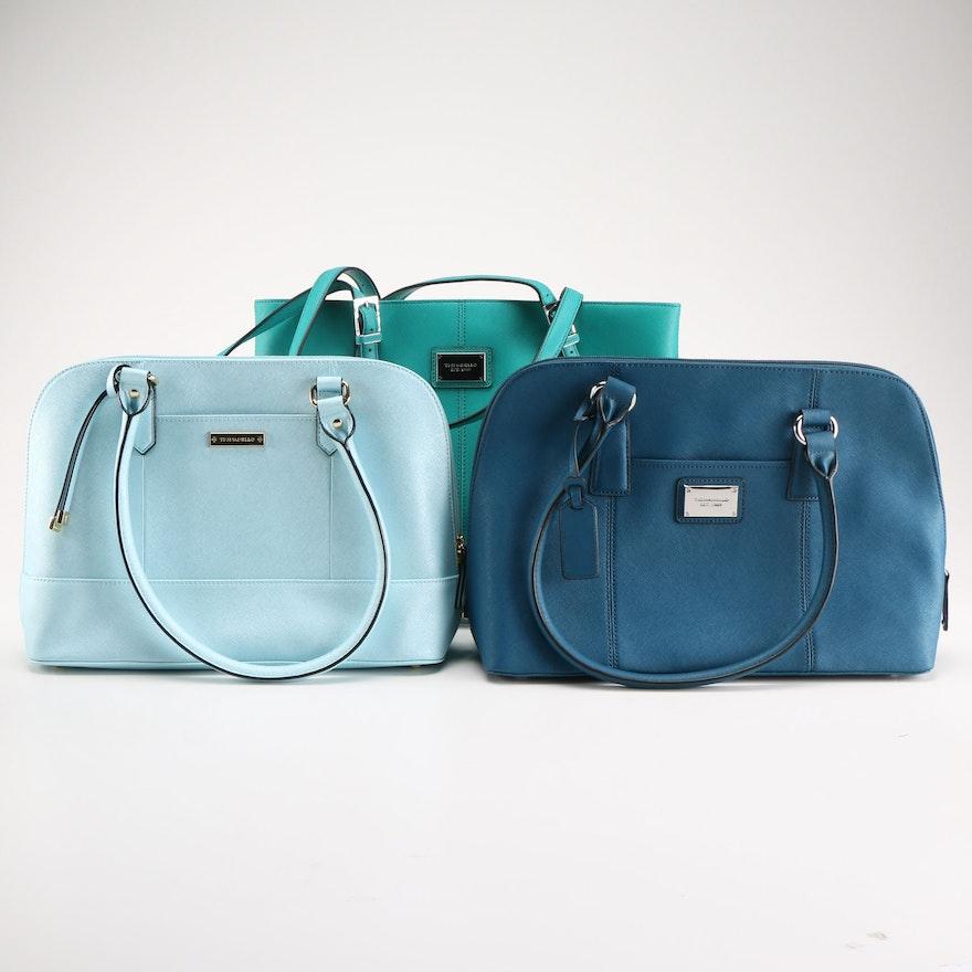 09474ffeb4 Tignanello Blue Handbag Collection   EBTH