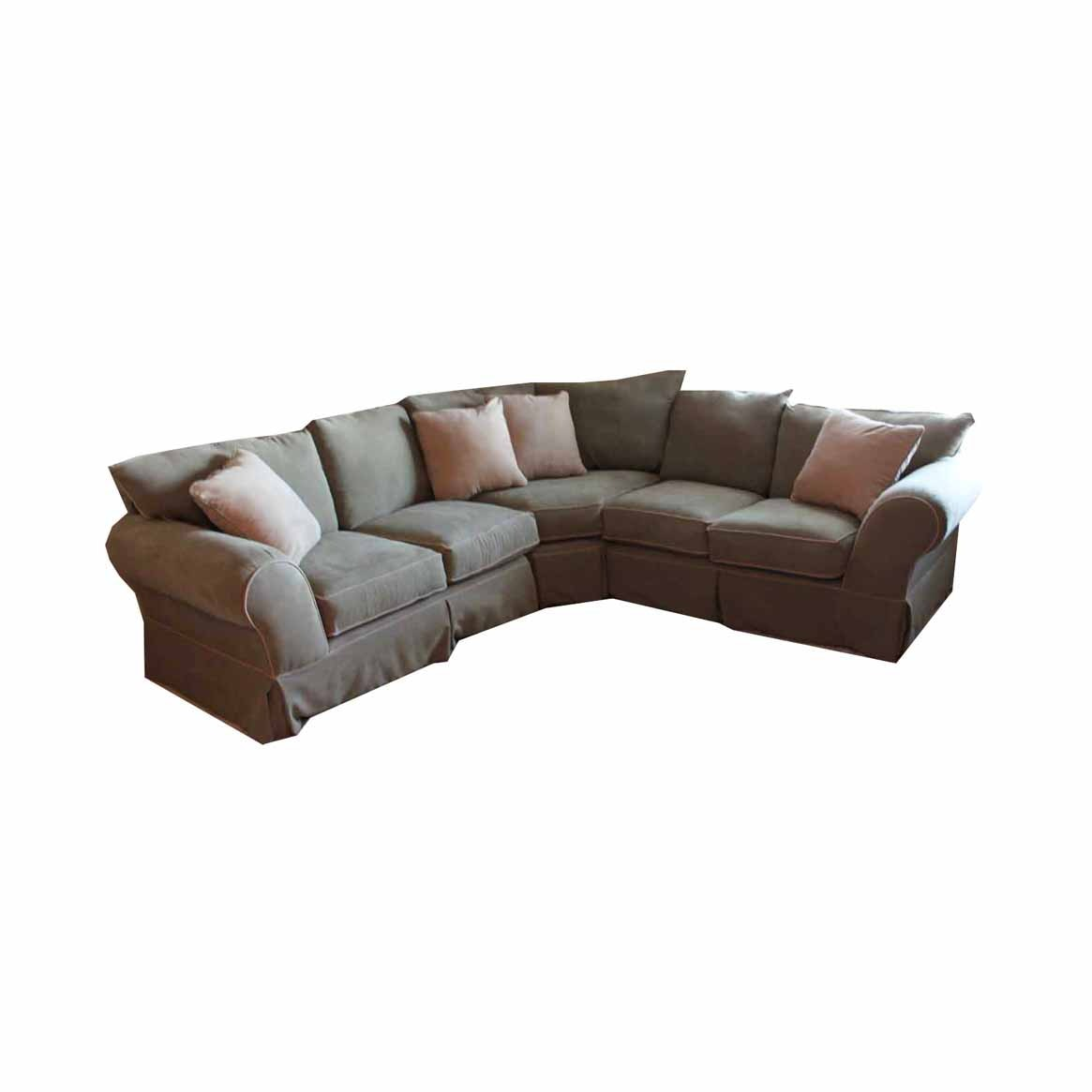 sofa express sectional sofa ebth rh ebth com Sectional Sofa Bed Dimensions IKEA Sectional