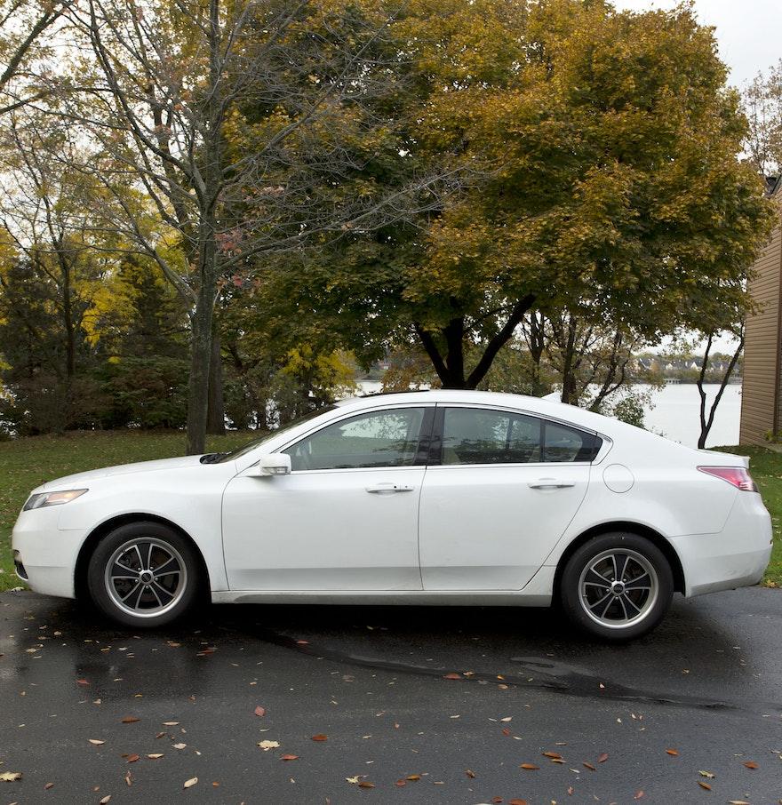 2012 White Acura TL : EBTH