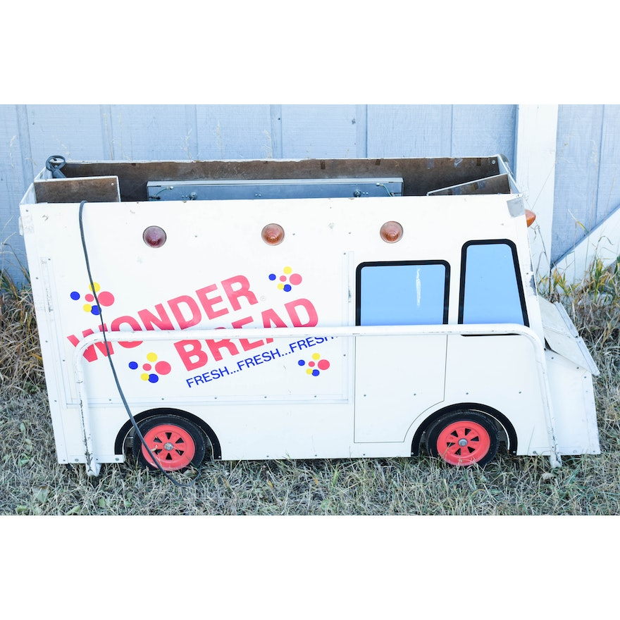 Vintage Electric Wonder Bread Advertising Display