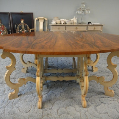 Baker French Provincial Dining Table
