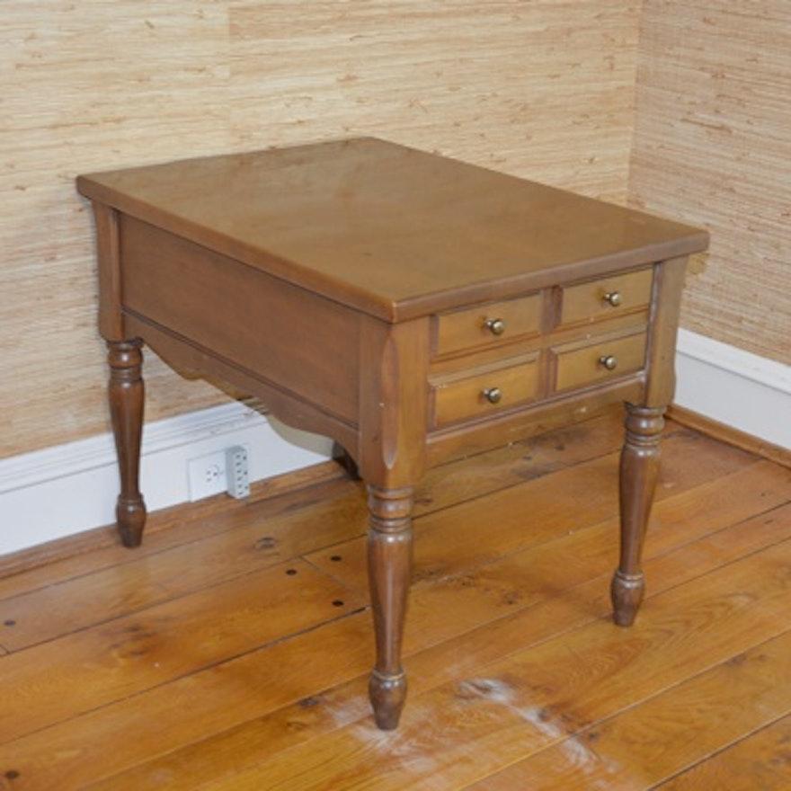 Mersman Maple End Table Ebth